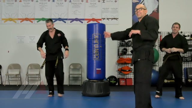 John Hackleman - 4 Punches and a Sprawl