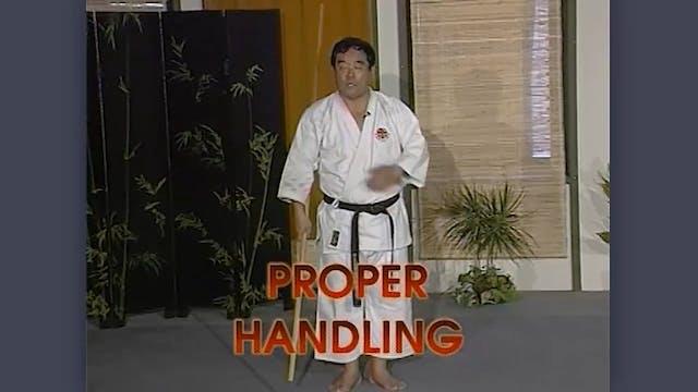 Bo: Classic Fumio Demura Kobudo Video Proper Handling