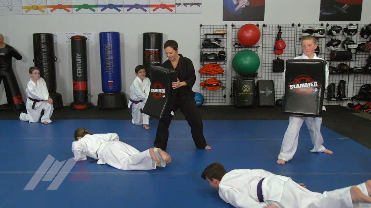 Michael Kramp Iron Arms Games Warm Ups Martial Arts Drills