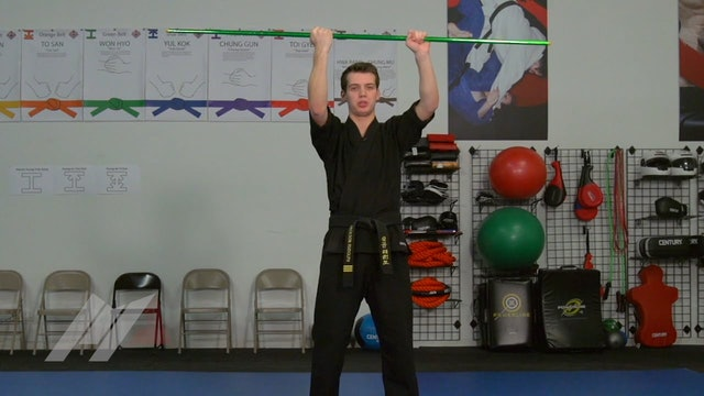 Jackson Rudolph - Horizontal Striking Combination Drill