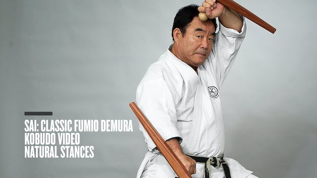 Sai: Classic Fumio Demura Kobudo Video Natural Stances