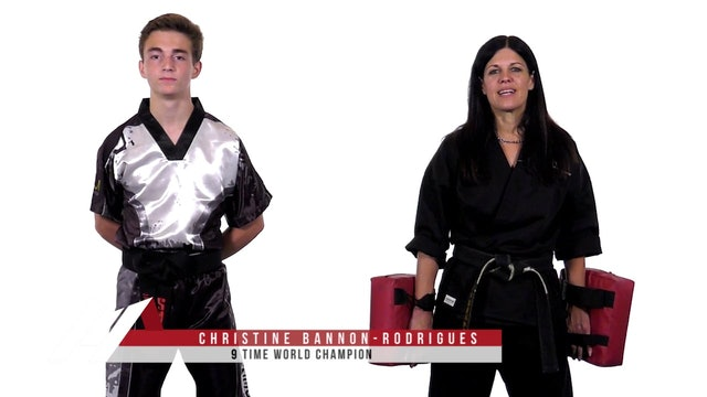 Christine Rodrigues - Kick Positioning