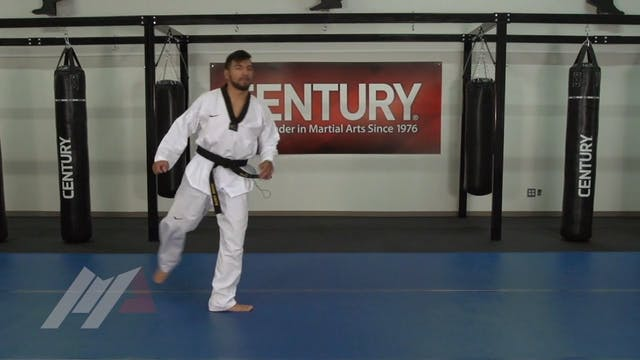Mark Herman - 540 Roundhouse Kick