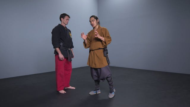 Self-Defense Combination #4: Push to Elbow
