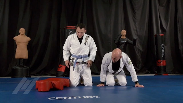 Randy Stacey - Posture and Simple Guard Pass