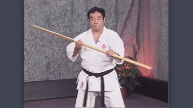 Eku Bo: Classic Fumio Demura Kobudo Video Strikes