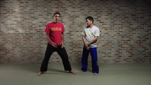Silat Takedowns: Elbow Compression (Kenjit Siko)