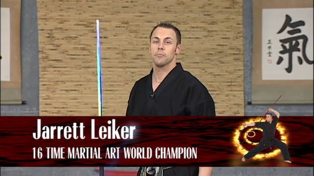 Jarret Leiker - Legendary Bo Staff