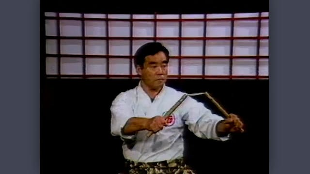 Nunchaku: Classic Fumio Demura Kobudo Video Introduction to the Nunchaku