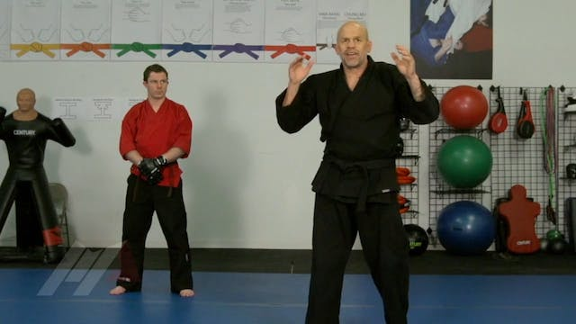 John Hackleman - Overhand Right Defense