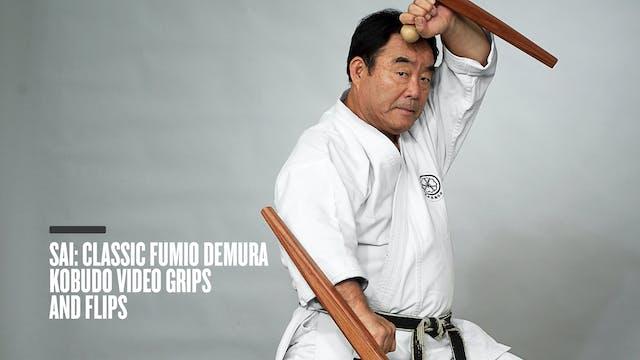 Sai: Classic Fumio Demura Kobudo Video Grips and Flips