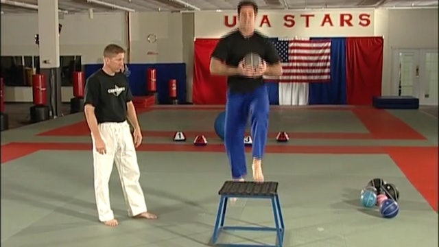 Mike Swain Medicine Ball Training for Judo