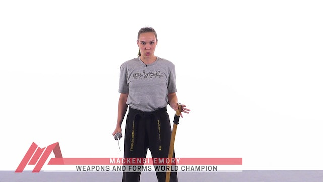 Mackensi Emory - How to Strike With a Sword