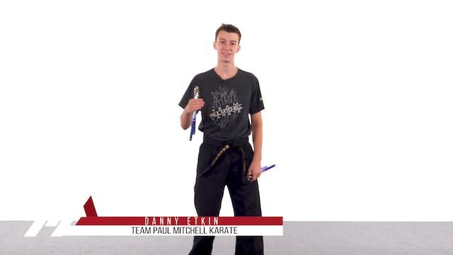 Danny Etkin - Nunchaku Spin Sequences