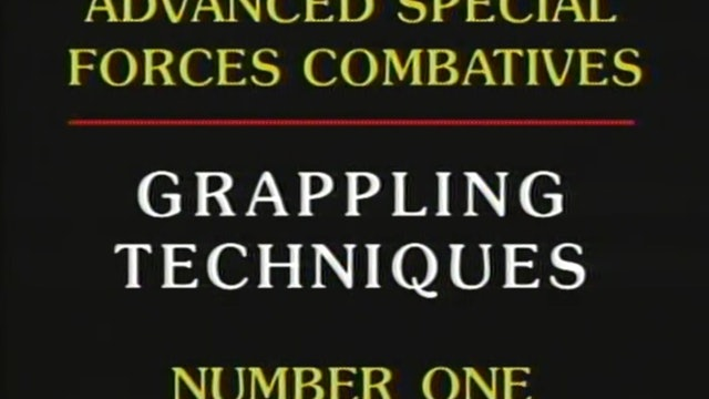 James Webb - Grappling Techniques