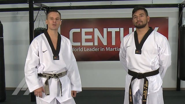 Juan Moreno - Defense Stance Basics