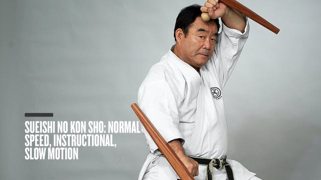 Sueishi No Kon Sho: Normal Speed, Instructional, Slow Motion