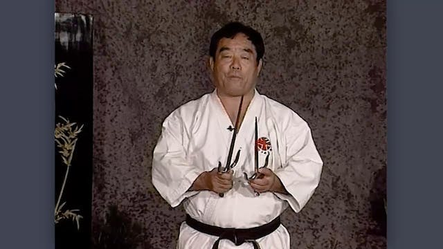 Sai: Classic Fumio Demura Kobudo Video Introduction to the Sai