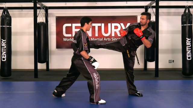 Justin Ortiz - Defense Against a Round Kick for Sparring