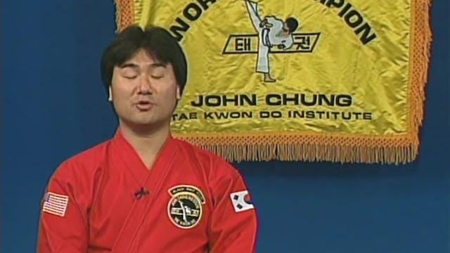 John Chung - Beginning Sparring