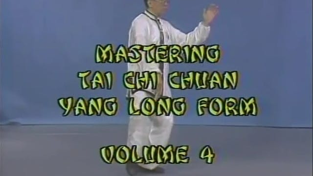 Daniel Lee - Tai Chi Yang Long Form 4