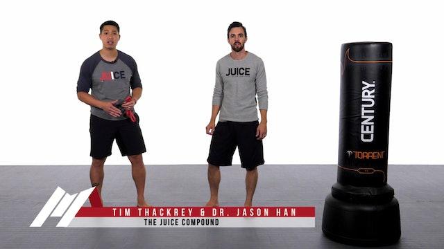 Jason Han - Fast Kick Drill with Band - Part 2