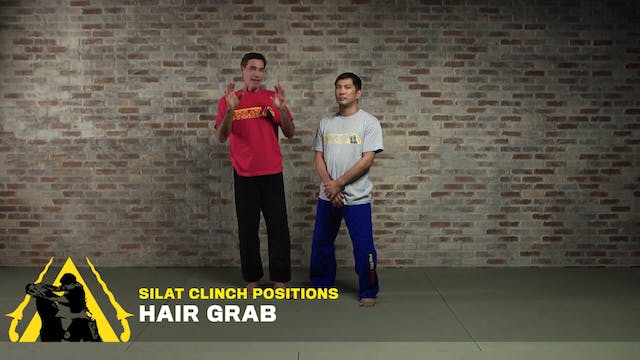 Silat Clinch Positions: Hair Grab