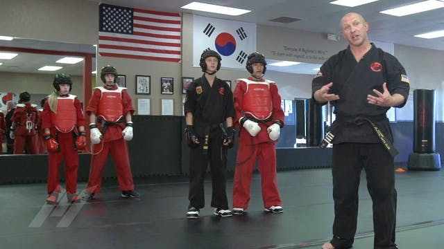 Michael Kramp - Bungee Sparring