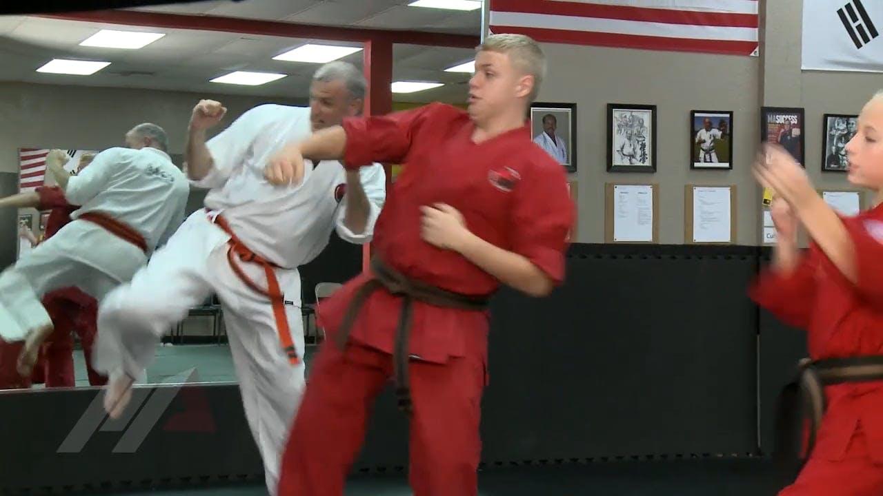 Michael Kramp Tag Team Sparring Sparring Drills Martial Arts