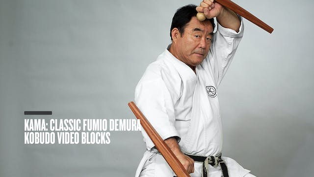 Kama: Classic Fumio Demura Kobudo Video Blocks