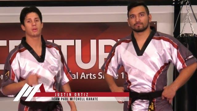 Justin Ortiz - Defense Against a Rear...
