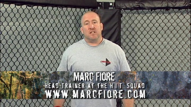 Marc Flore - Take Downs Off the Cage