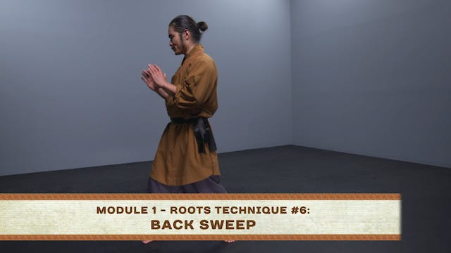 Roots Technique #6: Back Sweep