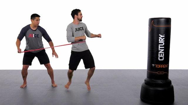 Jason Han - The Stick Drill - Improving Power Position on a Single Leg