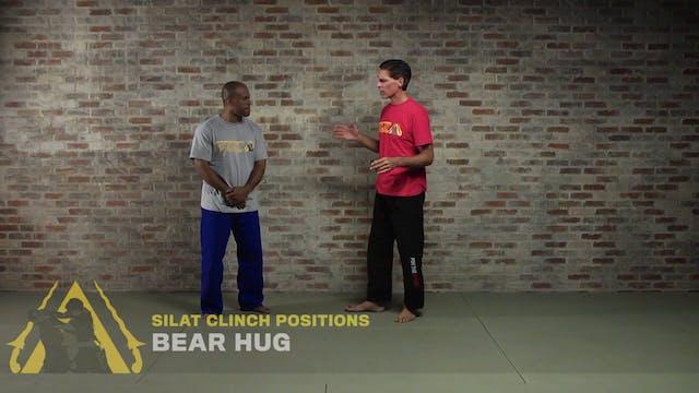 Silat Clinch Positions: Bear Hug