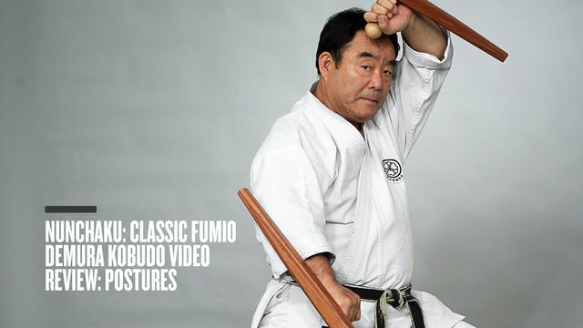 Nunchaku: Classic Fumio Demura Kobudo Video Review: Postures