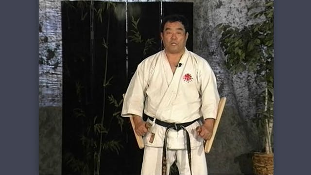 Tonfa: Classic Fumio Demura Kobudo Video Tonfa Against Other Weapons