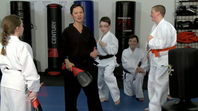 Melody Shuman - Round Kick Battle