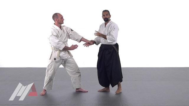Guillermo Gomez - Aikido Advanced Tai Sabaki Footwork