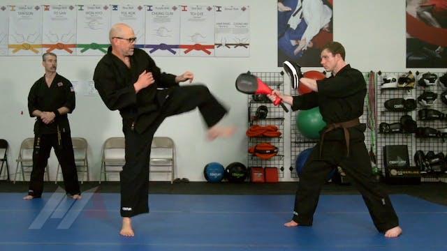 John Hackleman - Snap Kick Drill