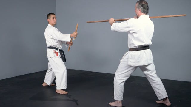 Nunchaku: One-Point Sparring Nunchaku vs. Bo