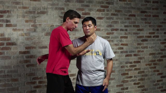 Silat Clinch Positions: Single Neck Clinch