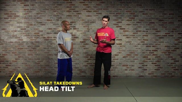 Silat Takedowns: Head Tilt