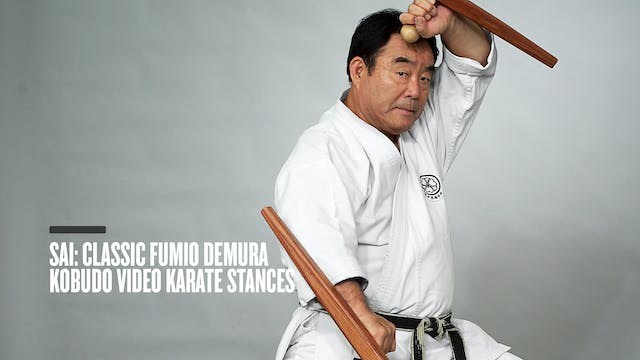 Sai: Classic Fumio Demura Kobudo Video Karate Stances