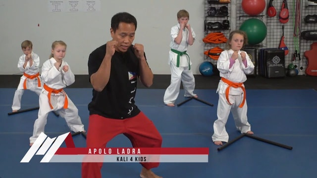 Apolo Ladra - Kali for Kids Footwork Drills