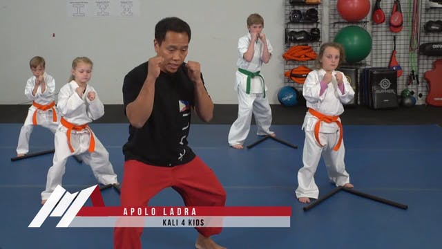 Apolo Ladra - Kali for Kids Footwork ...