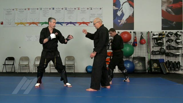 John Hackleman - Leg Check Return Punch