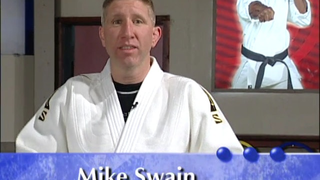 Mike Swain - Judo Skills - Falling and Rolling