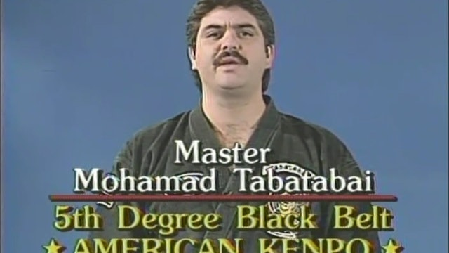 Mohamad Tabatabai - 3rd Degree Brown Belt Long Form 3