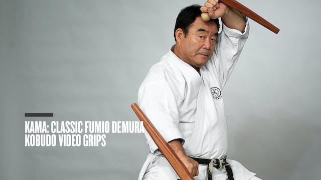 Kama: Classic Fumio Demura Kobudo Video Grips